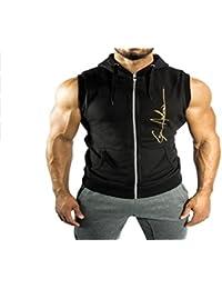 Superman Gym Singlets Mens Tank Tops Shirt
