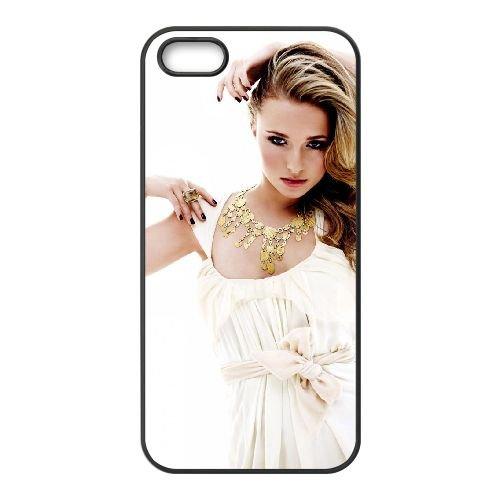 Hayden Panettiere Hot Pic coque iPhone 4 4S cellulaire cas coque de téléphone cas téléphone cellulaire noir couvercle EEEXLKNBC25683