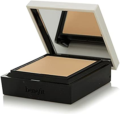 Benefit Hello Flawless! Custom Powder Cover Up For Face SPF15 - # Me, Vain? (Champagne) 7g/0.25oz: Amazon.es: Belleza