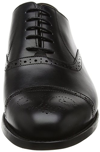 BARKER Devon, Scarpe Stringate Oxford Uomo Black (Black Calf)