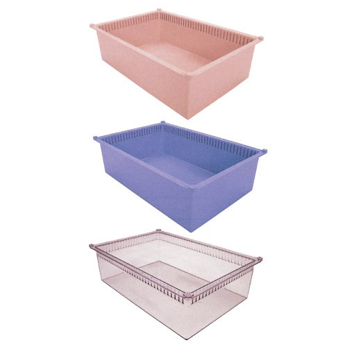 プラスチックトレー PT64-17  ブルー(01-2547-02-02)【サカセ化学工業】[1枚単位]   B01KDPGP3C