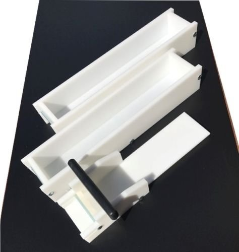Lot of 2 HDPE Soap Loaf Making Molds and Soap Cutter 5-6 lb ea. Outlast Silicone by GameDay Display by GDD (Image #4)
