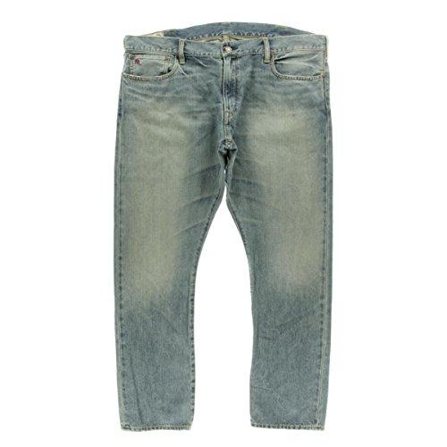 Polo Ralph Lauren Mens Sullivan Slim Fit Faded Straight Leg Jeans Blue - Ralph Polo Lauren Mexico