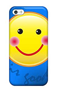 High Quality ZippyDoritEduard Happy Life Is Good Smiley Skin Case Cover Specially Designed For iphone 6 4.7 - 6 4.7