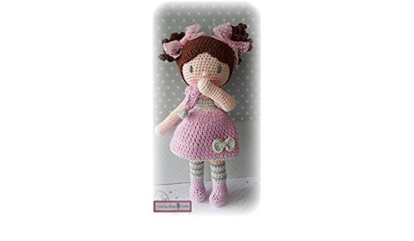 Muñeca crochet PERSONALIZADA Mariquilla.: Amazon.es: Handmade