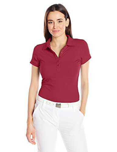Antigua Women's Spark Shirt, Cardinal Red, Medium