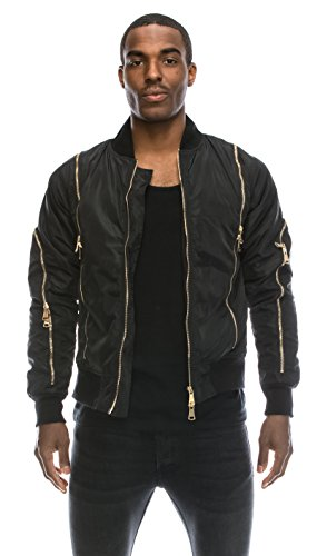 Quilted Bomber Jacket - 7