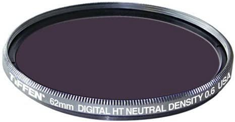 Tiffen 62HTND6 62MM Digital HT ND 0.6 Titanium Filter [並行輸入品]