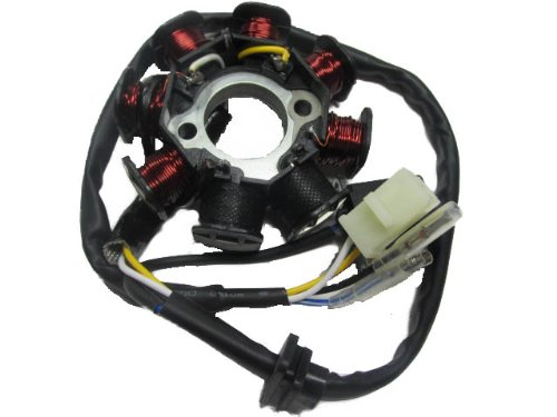 GY6 50 110 150cc ignition Stator Magneto 8 Coil Scooter Moped ATV TAOTAO JCL
