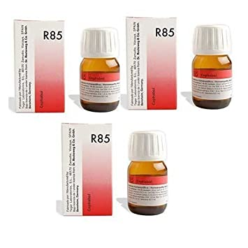 3 x Dr  Reckeweg - Homeopathic Medicine - R85 - High Blood Pressure Drops