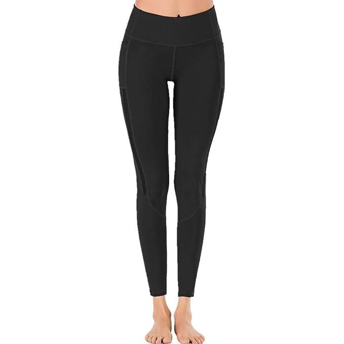 SXZG Nuevo Pantalón De Yoga con Costuras De Malla para Mujer ...