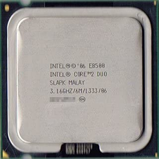 Intel Core 2 Duo 3.16 Ghz//6M//1333 SLB9K
