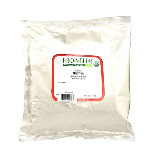 Frontier Herb Organic Nutmeg Ground, 16 oz
