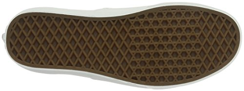 adulto Unisex Bianco Basse Da leather Ginnastica Vans Authentic Scarpe OpqqYR