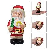 USHOT, Slow Rebound Santa Claus Doll Toy Slow Rising Soft Squishies Decompression Toys EWF591Y