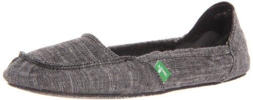 Trippy Sanuk Slip Women's Comfort Ons Black Toes qwrF0q