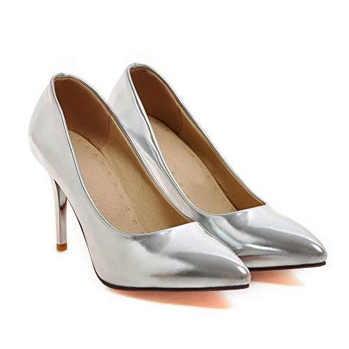 SDC05600 Sandales 36 EU Silver Compensées 5 AdeeSu Argenté Femme d5YdxZ