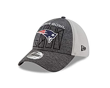 quality design c0e22 535eb Image Unavailable. Image not available for. Color  New Era New England  Patriots Super Bowl LIII Bound 39THIRTY Flex Hat ...