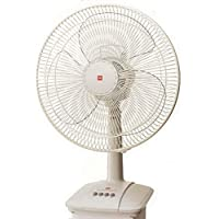 KDK A30AS Table Fan with 30cm Plastic Blade, Silver Gray