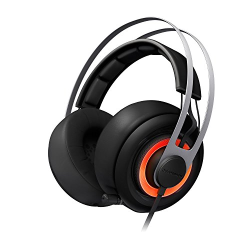 - SteelSeries Siberia Elite Headset with Dolby 7.1 Surround Sound (Black) (Renewed)