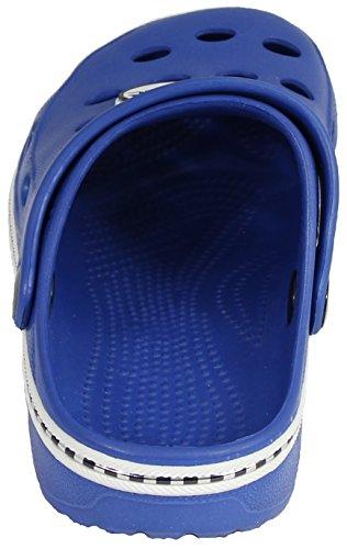 Sleedy® Kinder Clogs-Pantoletten Gr.18-31 Clogs EVA-Clog Unisex Kinder Hausschuhe Navy-Blue