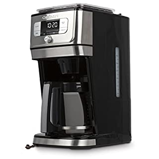 CUISINART DGB-800C Cuisinart Fully Automatic 12-Cup Burr Grind & BrewTM Coffeemaker, Black/Silver, 1 Count, Silver (B07BK5HYBR) | Amazon price tracker / tracking, Amazon price history charts, Amazon price watches, Amazon price drop alerts