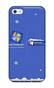 Awesome Case Cover/iphone 5/5s Defender Case Cover(christmas Login) by mcsharks