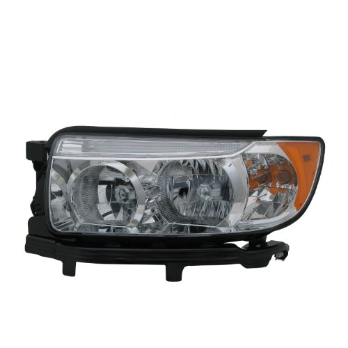TYC 20-6784-00-9 Subaru Forester Left Replacement Head Lamp (Replacement Forester Subaru Headlight)