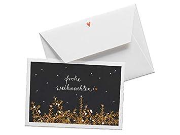 Originelle Weihnachtskarten.Hochwertige Weihnachtsgrußkarte Originelle Weihnachtskarte Frohe