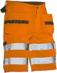 Einheitsgr/ö/ße orange//schwarz Jobman 994384-3099-0 Kniepolster
