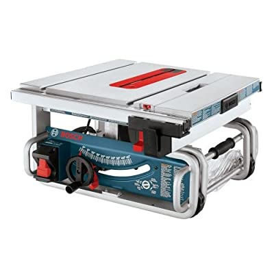 "Bosch GTS1031 10"" Worksite Table Saw,"