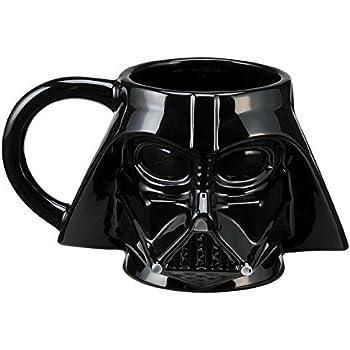 Amazon Vandor 99561 Star Wars Darth Vader 18 Oz Oval Ceramic