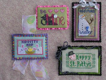Vals Stitch - Little Cuties Volume 1 Cross Stitch Chart and Free Embellishment
