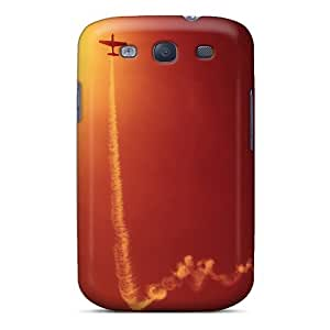 Durable Plane At Sunset Back Case/cover For Galaxy S3