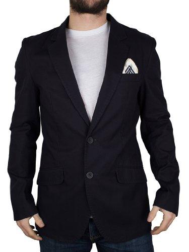 Antony Morato Men's Super Slim 2 Button Navy
