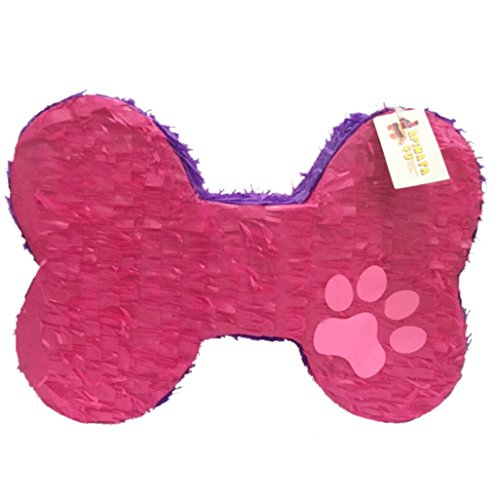 APINATA4U Pink & Purple Dog Bone Pinata 20