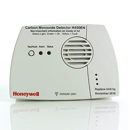 Honeywell H450EN – Detector de monóxido de carbono