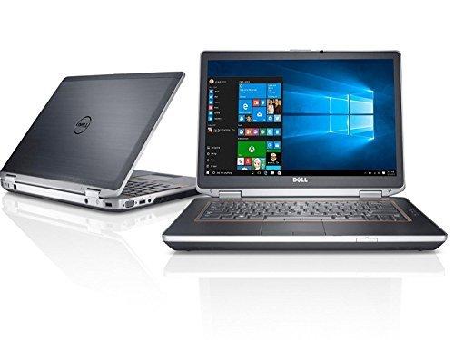 "Dell Latitude E6420 14"" HD Anti-glare LED Backlit Business Laptop Computer, Intel Dual Core i7-2620M up to 3.4GHz, 8GB DDR3, 128GB SSD, DVD, HDMI, Windows 10 Pro (Renewed)"