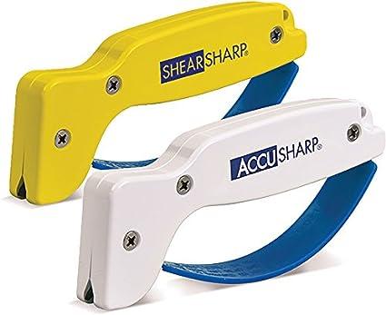 Amazon.com: Accusharp 012C afilador de cuchillos en paquete ...