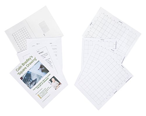 Learn To Draw With Pinpoint Accuracy - Square Drawing Transparent Gri - A4 Grids price tips cheap