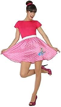 Atosa-17191 Disfraz Años 50, Color Rosa, XL (17191): Amazon.es ...