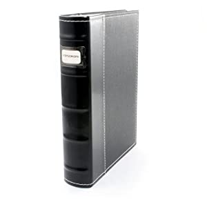 Amazon Com Bellagio Italia Cd Dvd Storage Binder Black