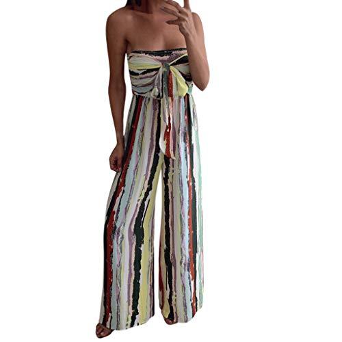pipigo Women Print Flower Bodysuit Sleeveless One Shoulder Short Jumpsuits Rompers