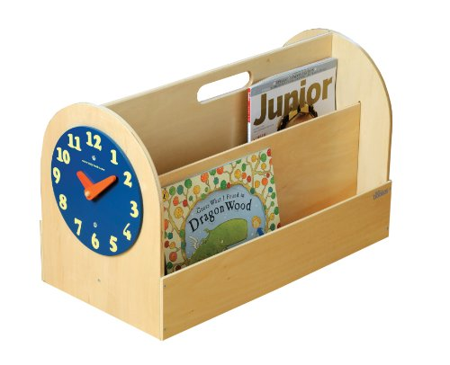 Tidy Books the Original Kid's Book Box- Front Facing Book Display- Natural Wood- 34 x 54 x 28 cm by Tidy Books