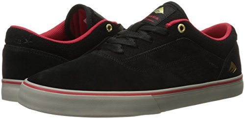 The skateschuhe nbsp;Vulc Rosso chuh G6 Emerica Skates Herman Nero Grigio Uomo Y7tqw0