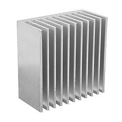 Nrthtri smt 40x40x20mm Aluminum Heat Sink Heat Sink for CPU LED Power Cooling Eater