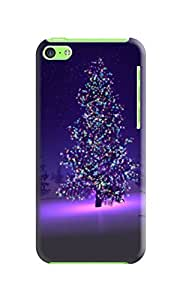 New Merry Christmas New Bling fashionable Lovely Hard Cover Skin Case For iphone 5c