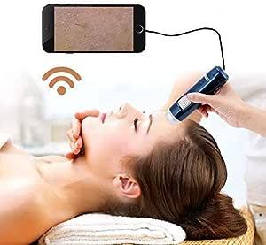 Detector de cuero cabelludo 5-200X Analizador de la piel del ...