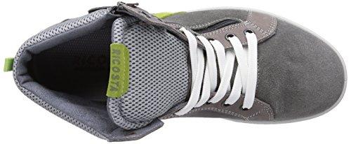Ricosta Ramon - zapatillas deportivas altas de piel niño gris - Grau (patina/teer 458)