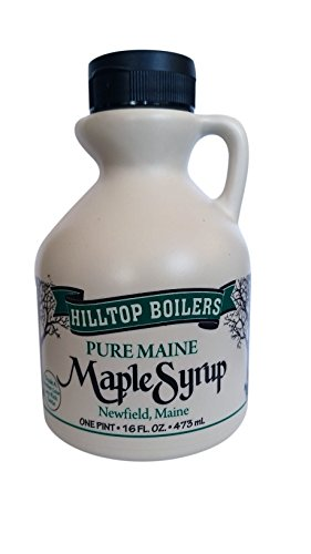 Hilltop Pure Maine Maple Syrup - US Grade A Medium Amber (1 pint)
